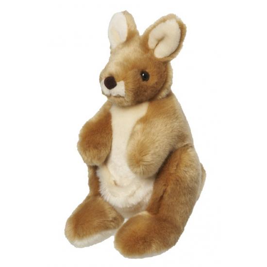 Pluche kangoeroe knuffel 26 cm