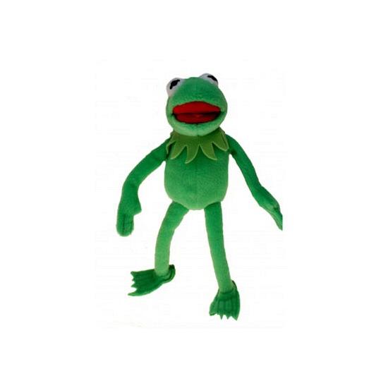 Pluche Kermit de Kikker knuffel 24 cm