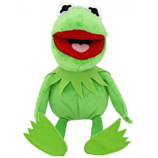 Pluche Kermit de Kikker knuffel 25 cm