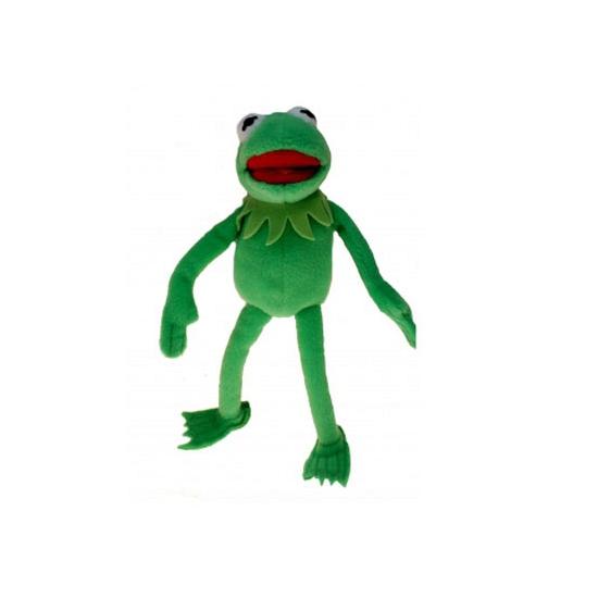 Pluche Kermit de Kikker knuffel 38 cm