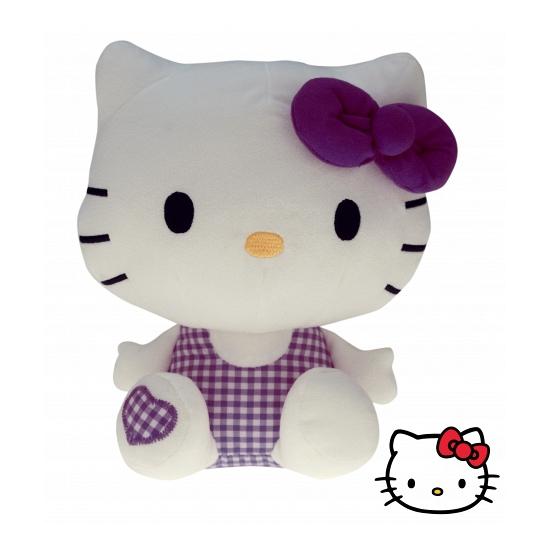 Pluche kinderknuffel Hello Kitty 25 cm