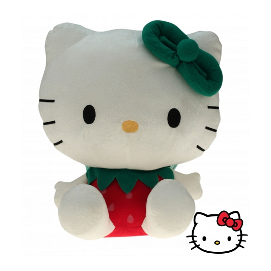 Pluche kinderknuffel Hello Kitty 35 cm