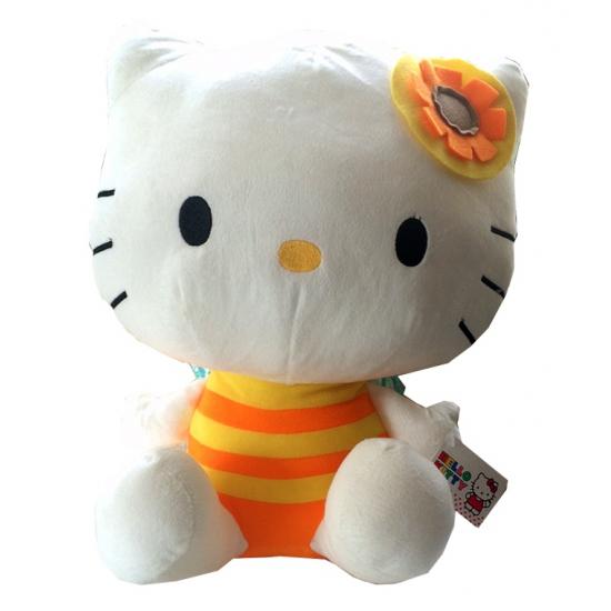 Pluche kinderknuffel Hello Kitty 35 cm