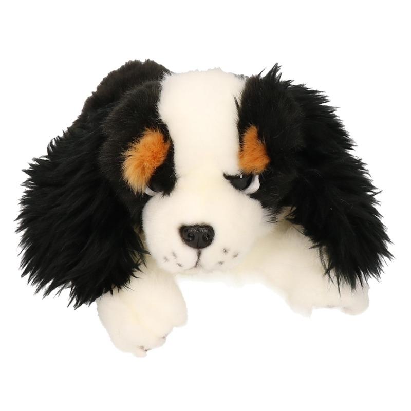 51ecdc457528fd Pluche King Charles Spaniel hond knuffel 25 cm