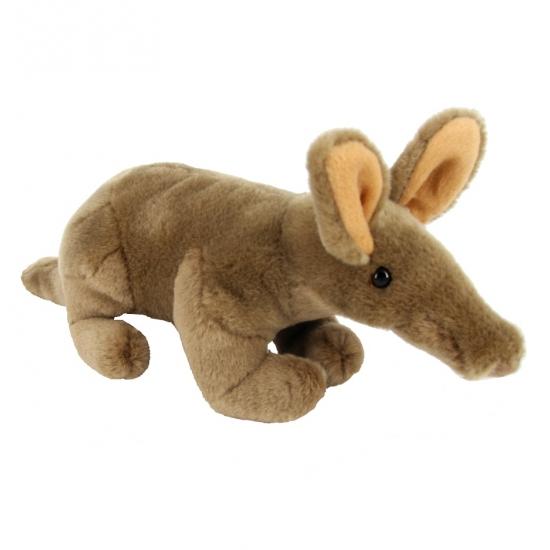 Pluche knuffel aardvarken 26 cm