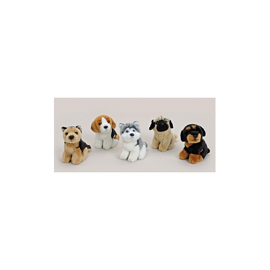 Pluche knuffel beagle 11 cm