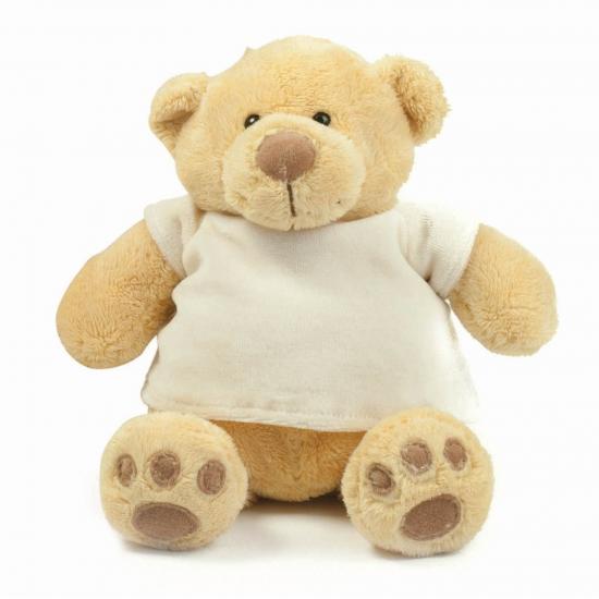 Pluche knuffel beren met t shirt