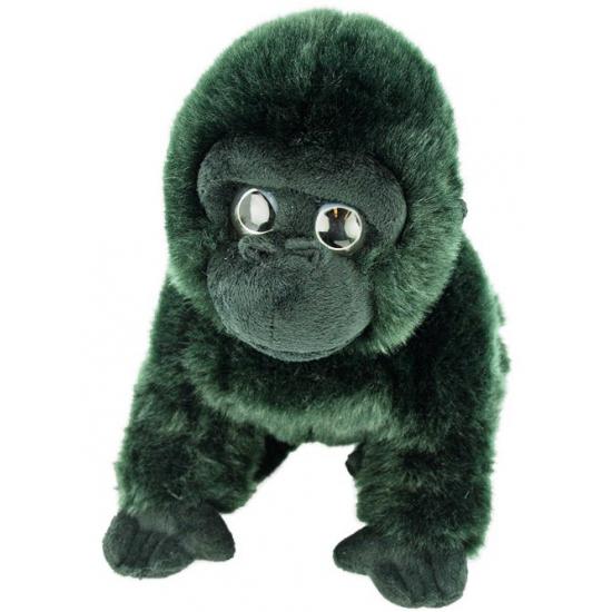 Pluche knuffel berg gorilla 33 cm