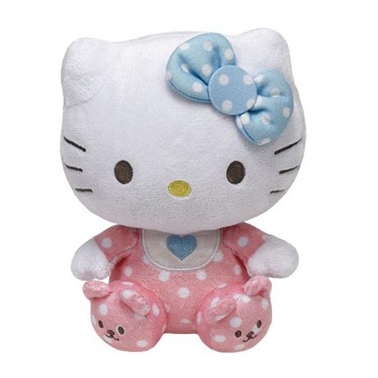 Pluche knuffel Hello Kitty baby 15 cm