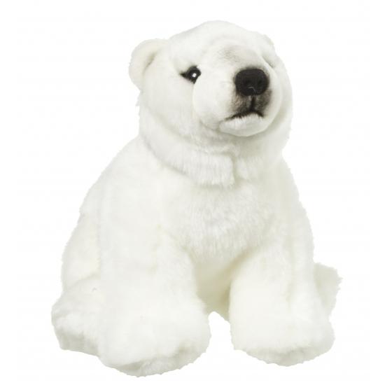 Pluche knuffel ijsbeer 22 cm