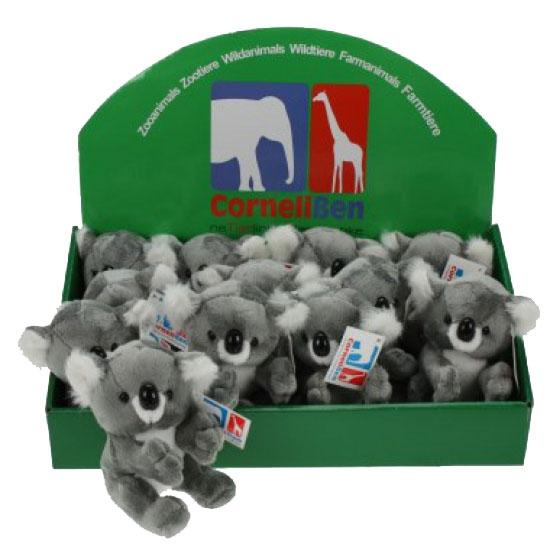 Pluche knuffel koala 14 cm