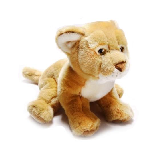 Pluche knuffel leeuwin 31 cm