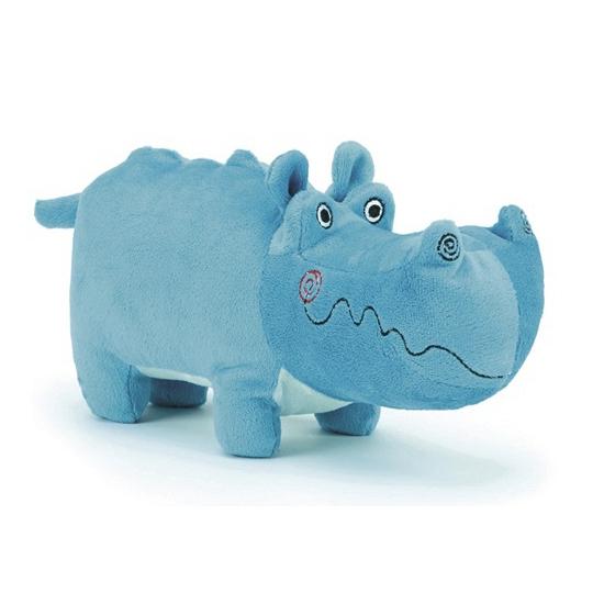 Pluche knuffel nijlpaard Henry 22 cm