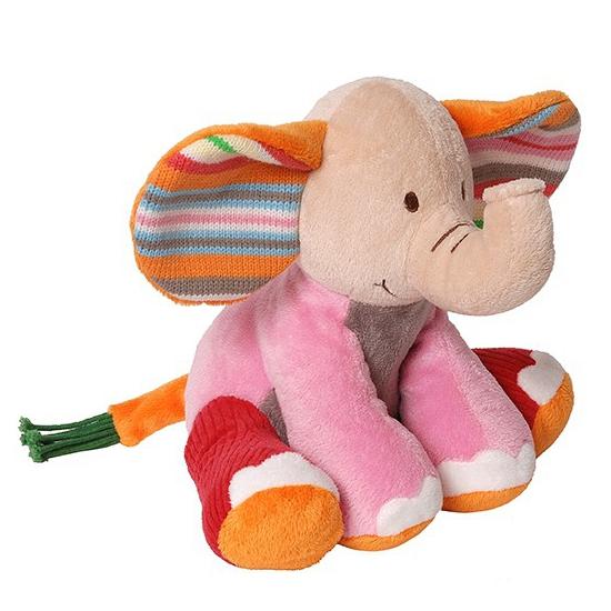 Pluche knuffel olifant 21 cm