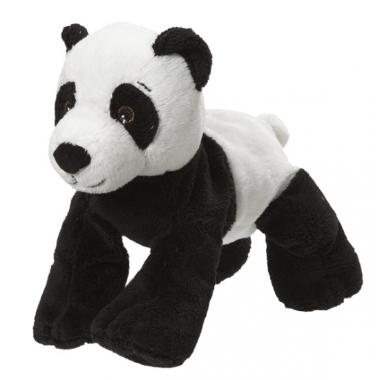 Pluche knuffel pandabeer 22 cm