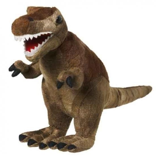 Pluche knuffel T Rex dinosaurus 30 cm