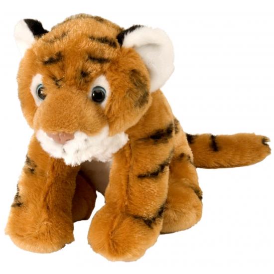 Pluche knuffel tijger 20 cm