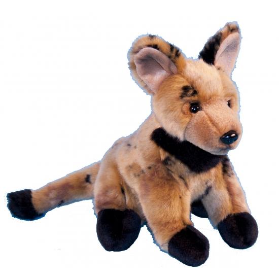 Pluche knuffeldier hyena 21 cm