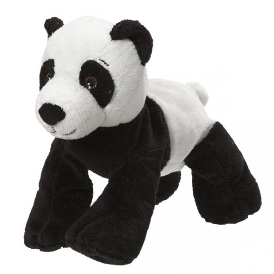 Pluche knuffeldier pandabeer 22 cm