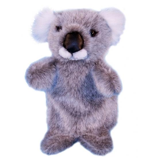 Pluche koala handpoppetje 28 cm