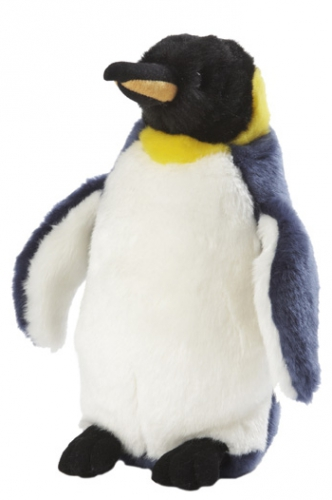Pluche koningspinguin knuffel 28 cm