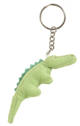 Pluche krokodil sleutelhanger 6 cm