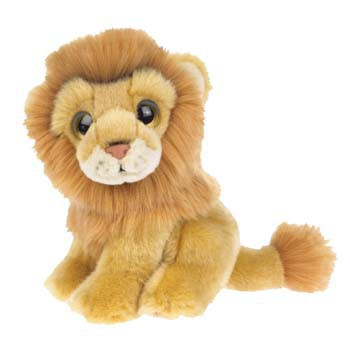 Pluche leeuw knuffels 18 cm