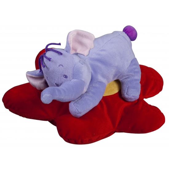Pluche Lollifant kussens 38 cm