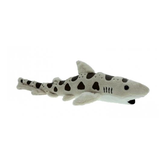 Pluche luipaard haai 31 cm