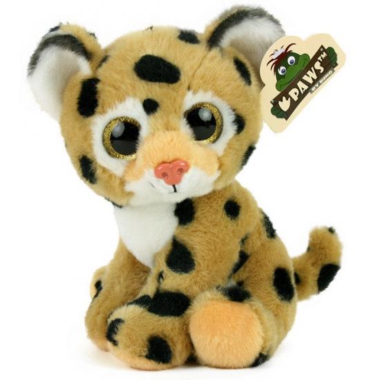 Pluche luipaard knuffeltje 20 cm