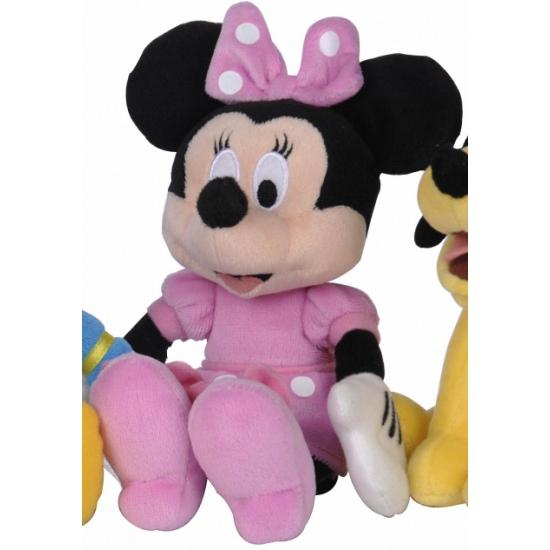 Pluche Minnie Mouse knuffel 20 cm