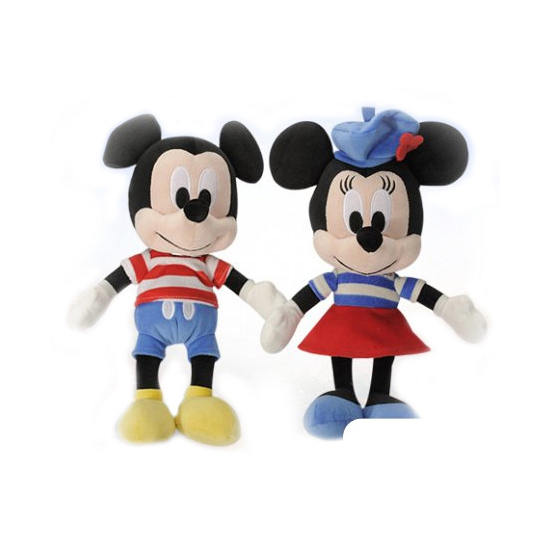 Pluche Minnie Mouse knuffel 25 cm