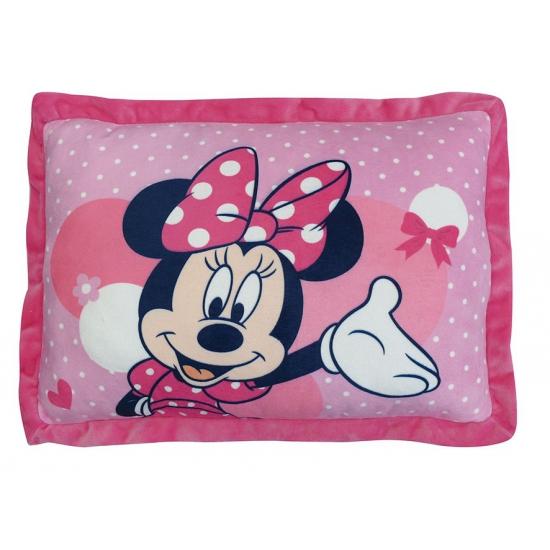Pluche Minnie Mouse kussen 29 x 43 cm