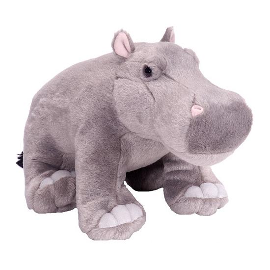 Pluche nijlpaard knuffels 30 cm