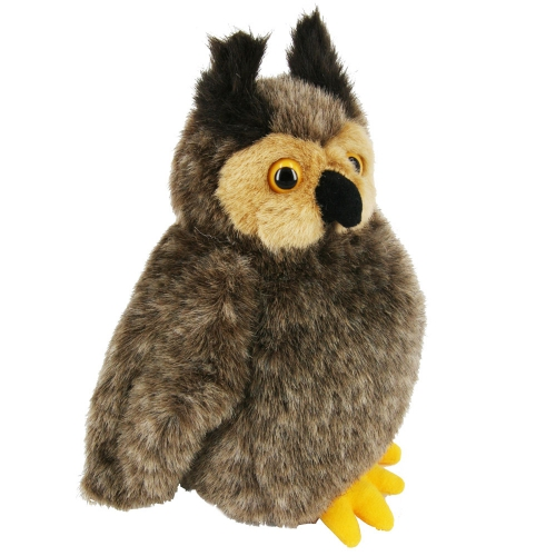 Pluche oehoe uil knuffeldier 20 cm