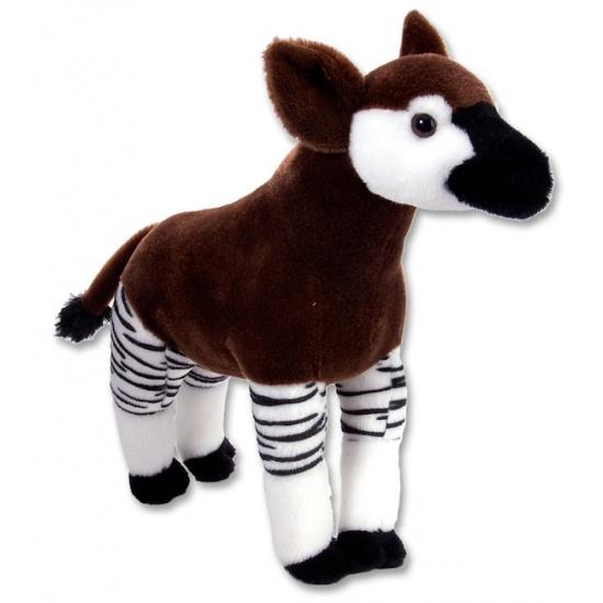 Pluche okapi knuffel 30 cm