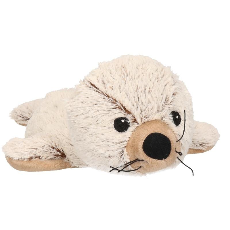 Pluche opwarm knuffel zeehond