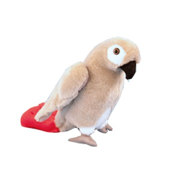 Pluche papegaai knuffel