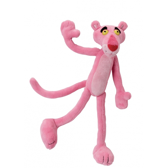 Pluche Pink Panther knuffel 22 cm
