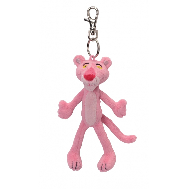 Pluche Pink Panther sleutelhanger