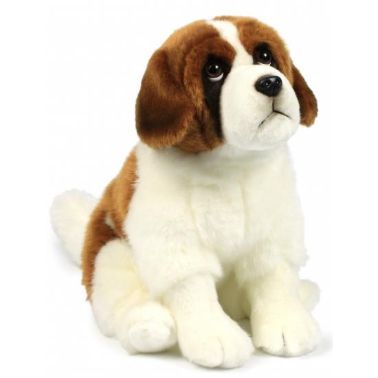 Pluche Sint Bernard hond knuffel 28 cm