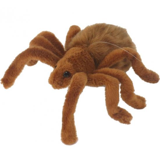 Pluche spinnen knuffels 19 cm