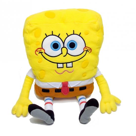 Pluche Spongebob kussens 60 cm