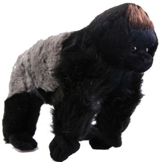 Pluche staande gorilla 22 cm