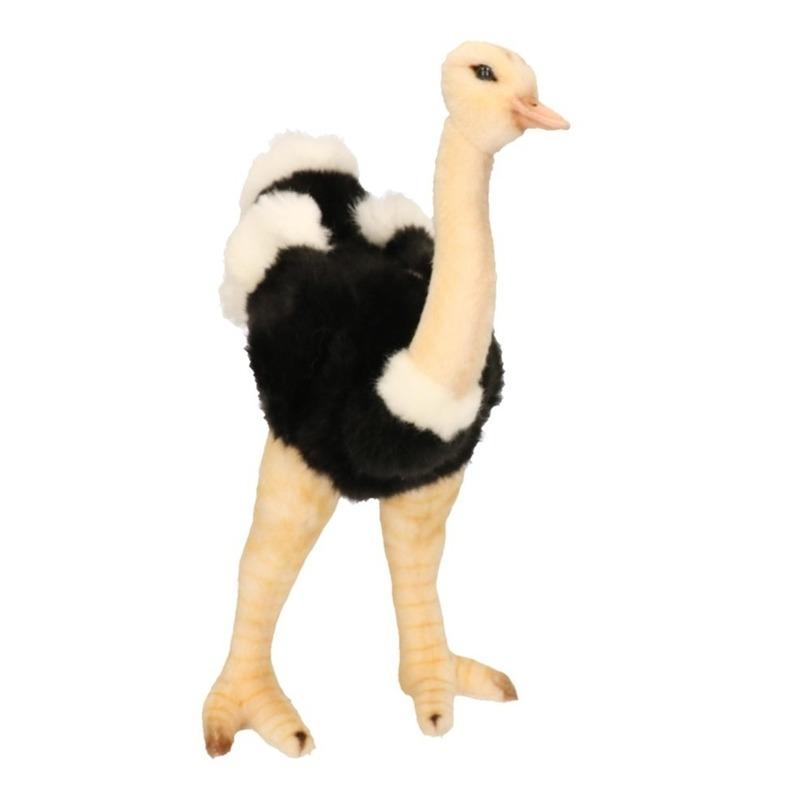 Pluche struisvogel 32 cm