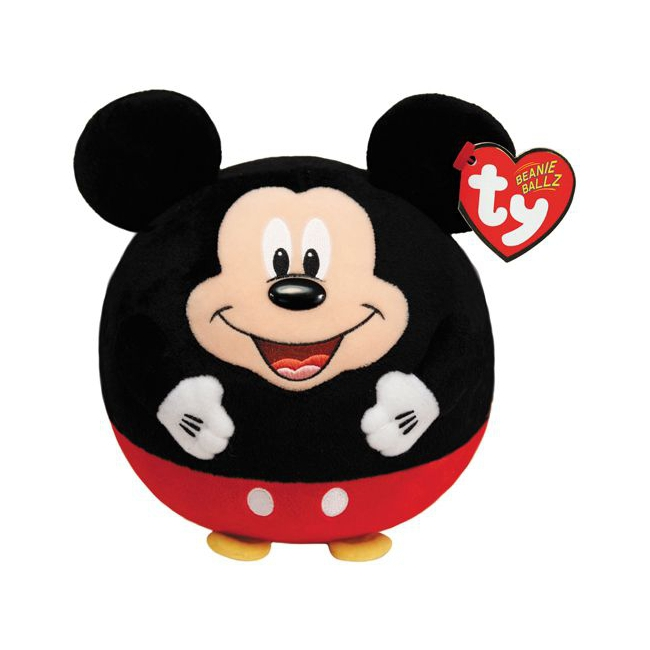 Pluche Ty Beanie Ballz Mickey Mouse