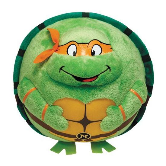 Pluche Ty Beanie Ballz Ninja Turtle Michelangelo