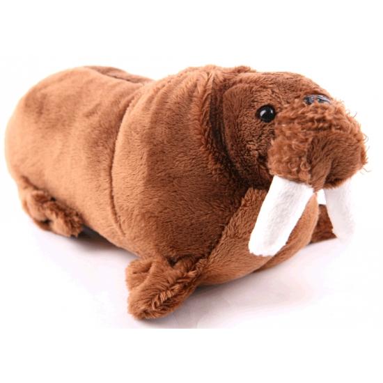 Pluche walrus knuffel 21 cm