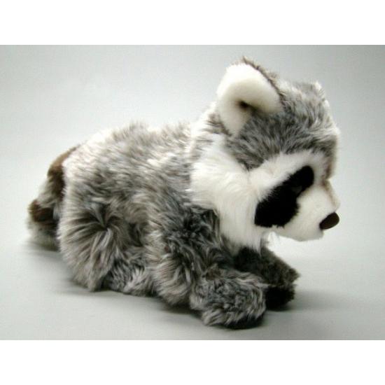 Pluche wasberen knuffel 22 cm