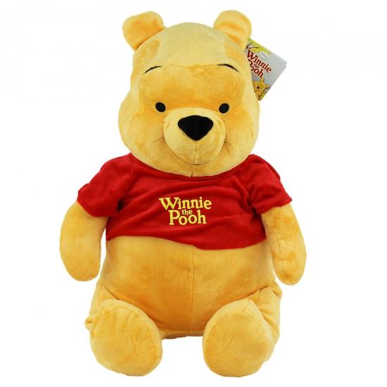 Pluche Winnie de Poeh knuffel 80 cm